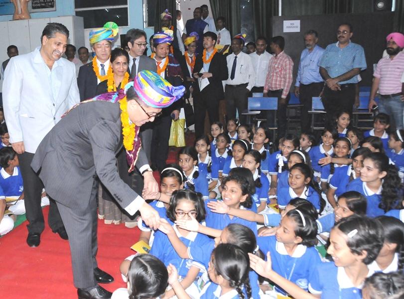 """""""मोतईनाई"""" अभियान में मुनि स्कूल का योगदान पूरे विश्व के लिए होगा उदाहरण"""