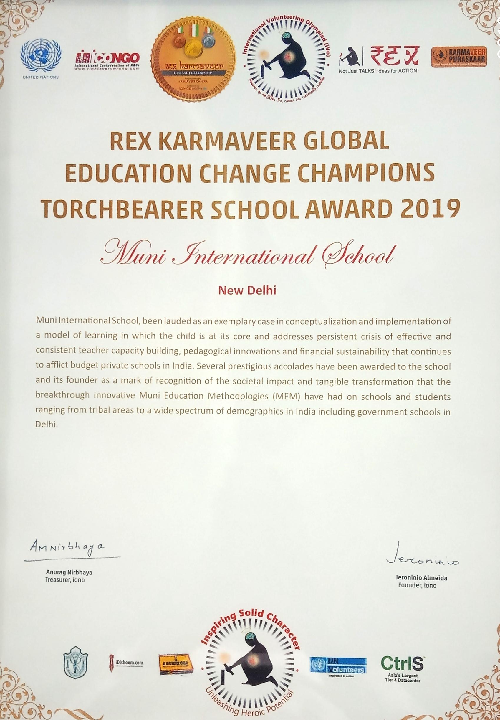 KARMAVEER AWARD-2019