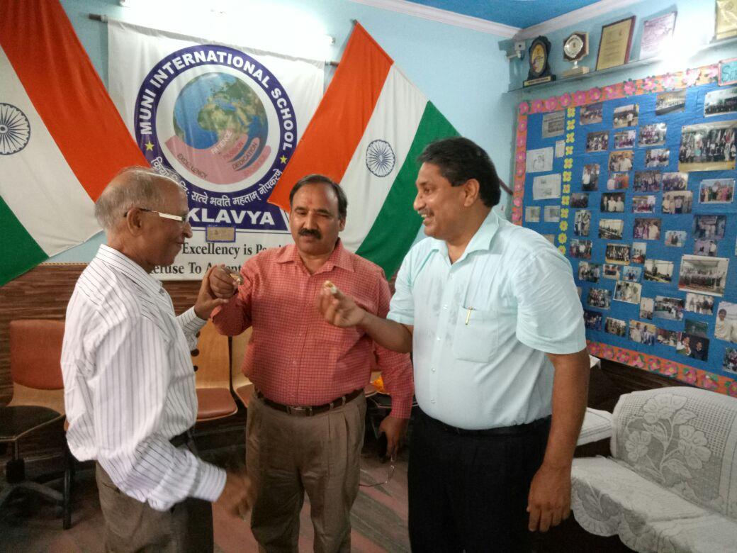 We feel honoured and energetic by the visit of   Honourable Dr. Garima Mittal ji