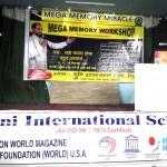 मुनि इंटरनेशनल स्कूल में मेगा मेमोरी वर्कशाप आयोजित