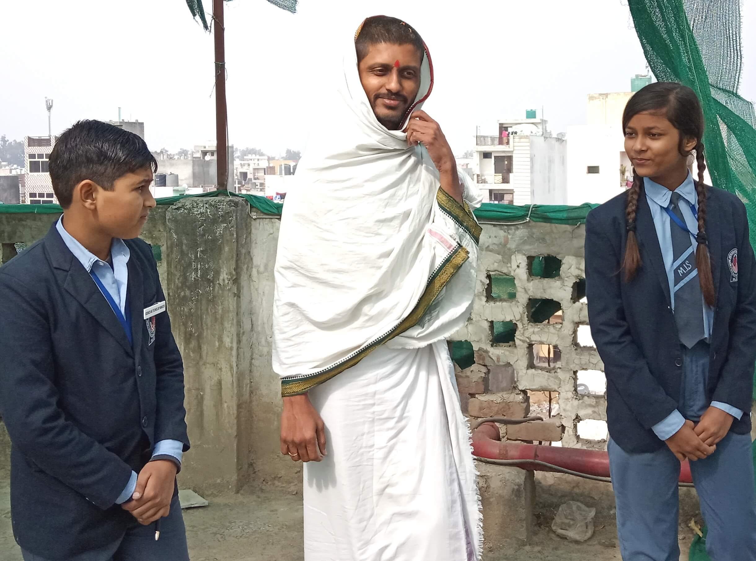 मुंबई व दिल्ली के शिक्षाविदों ने जानी मुनि स्कूल की शिक्षण पद्दति