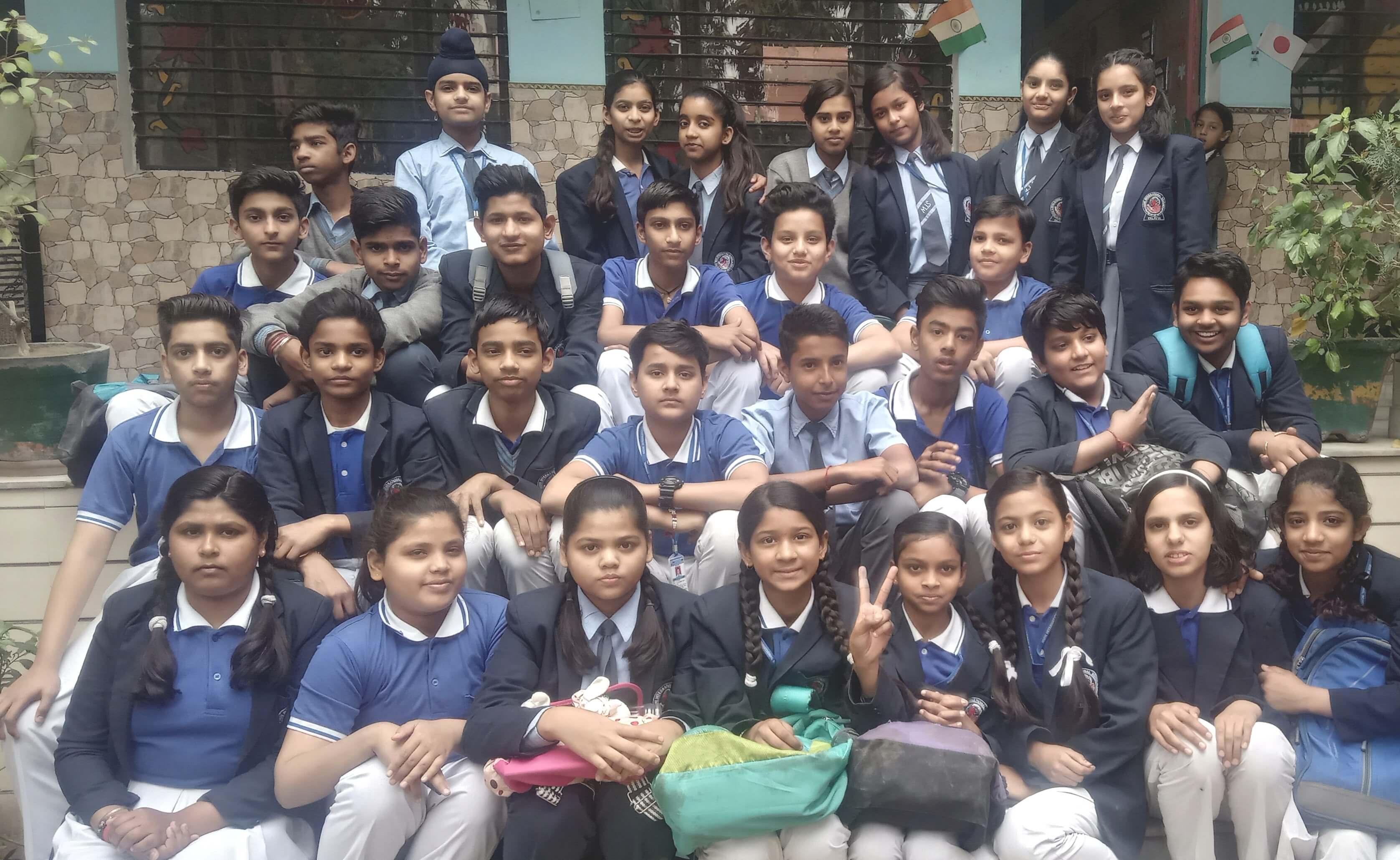 Muni international school - Group-Photos of All Class-Session-2018-19