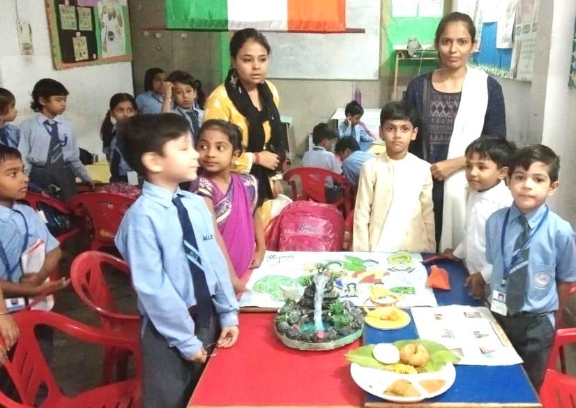 ज्ञान मेले में मुनि स्कूल के छात्रों ने दी काफी रोचक जानकारियां