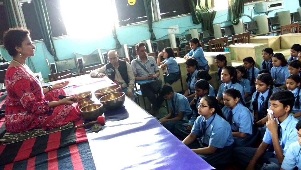 स्कूल नहीं नवाचारों का संस्थान है, मुनि इंटरनेशनल स्कूल : डॉ. सुरीली