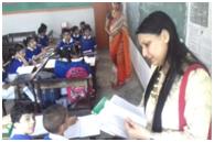 Teachears of Rajkiya Pratibha Vikas Vidyalaya trained by MIS