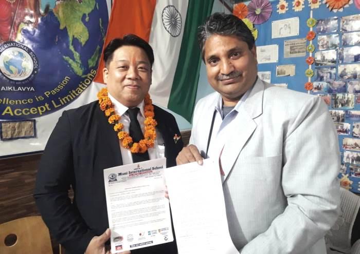 Muni International School education model will run in Japanese schools from now on