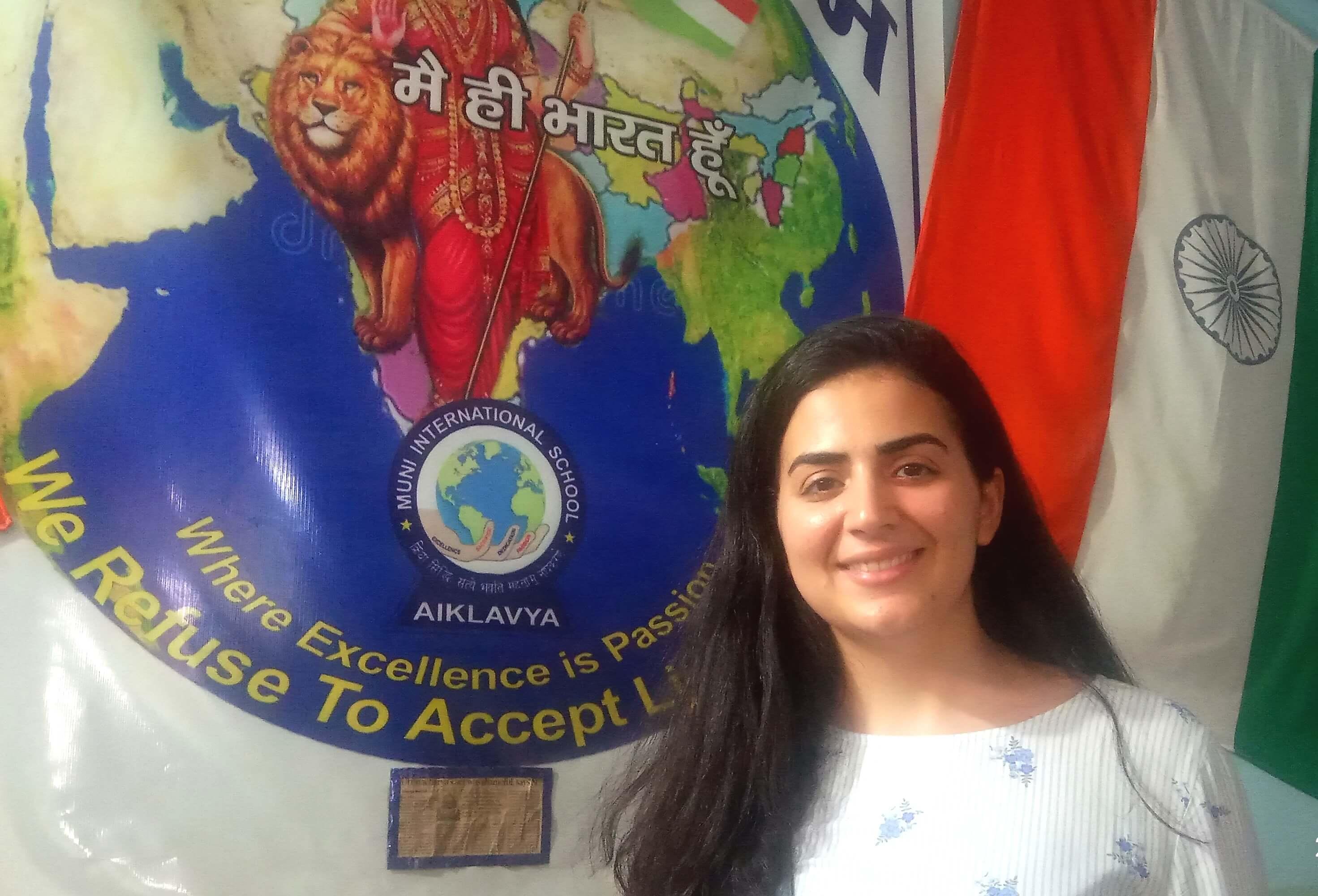 Iraqi Houssaini Habiba is very impressed by  Muni International School's  Inclusive, Affordable and Innovative education