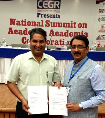 Muni International School MOU signed with Suryadatta Group of Institutions