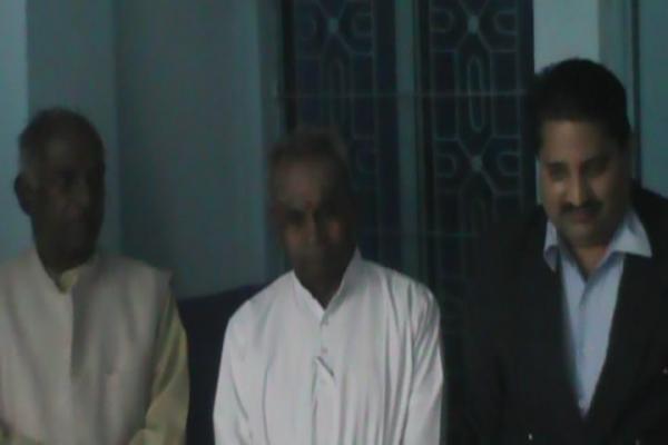 One of Think Tank of RSS and former MP of Karnatka Sh. GovindaCharya ji visited MIS delhi