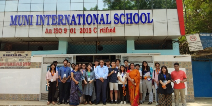 Students of different countries (by Hindu Collage) visited MIS