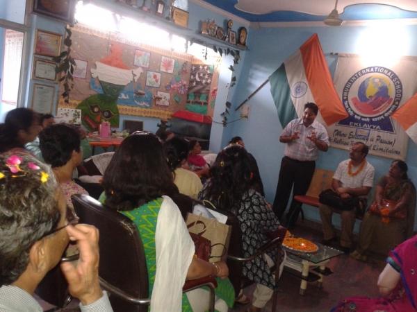 Training of Govt. principal who passed UPSC exam